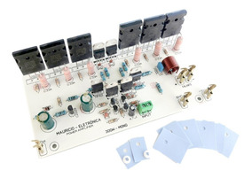 Placa Montada Amplificador Profissional 300w Rms 4 Ohms