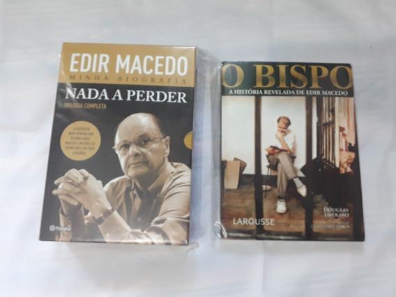 Coleção Livros Trilogia Nada A Perder Edir Macedo E O Bispo
