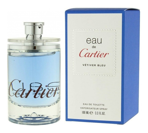 Perfume Eau Vetiver Bleu De Cartier Or - mL a $1650