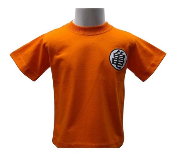 Camiseta Camisa Infantil Dragon Ball Z Algodão Promoção