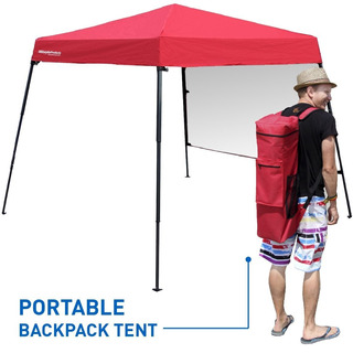 Carpa Roja Transportable | Easygoproducts