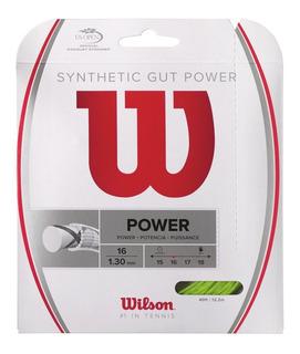 Tenis Cuerda Lima Synthetic Gut Power 16 Wilson