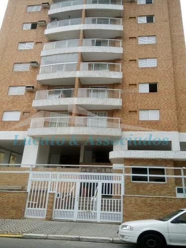 Imagem 1 de 30 de Apartamento Para Venda Na Vila Tupi Em Praia Grande Sp, 02 Dormitórios Sendo 01 Suíte - Ap01637 - 34778599