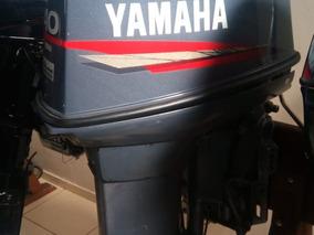 Motor De Popa Yamaha 40hp 2 Tempos Usado
