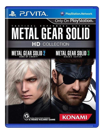 Metal Gear Solid Hd Collection Ps Vita Mídia Física