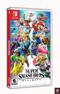 Super Smash Bros Ultimate - Nintendo Switch 100% Original