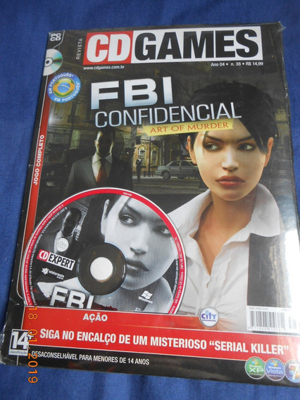 Art Of Murder Fbi Confidential ( Game Original Pc ) Lacrado!