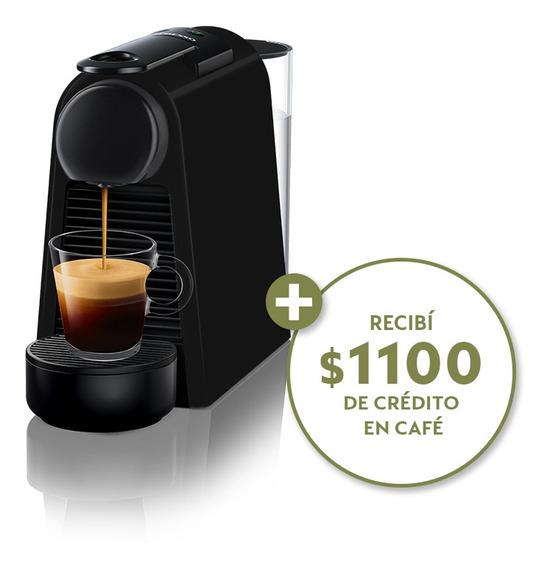 Cafetera Nespresso Essenza Mini D + Cápsulas