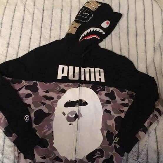Moletom Bape X Puma