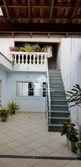 Casa Terreá 3 Quarto(s) C/suite Para Venda No Bairro Jardim Stella Em Santo André - Sp - Cas38