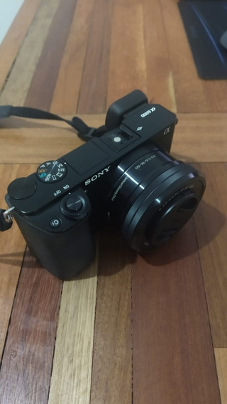 Câmera Sony Mirrorless Alpha A6000 + 16-50mm