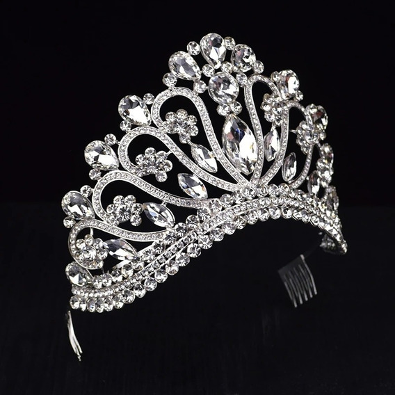 Coroa Miss Rainha Super Brilhante Princesa Modelo Concurso