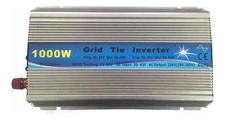Inversor On Grid Tie 1000w Entr 20v A 45v E Saida 220 Volts