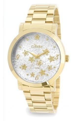 Relógio Condor Feminino Dourado - Co2035klc