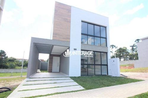 Imagem 1 de 28 de Casa Com 3 Dormitórios À Venda, 139 M² Por R$ 639.000,00 - Umbará - Curitiba/pr - Ca0485
