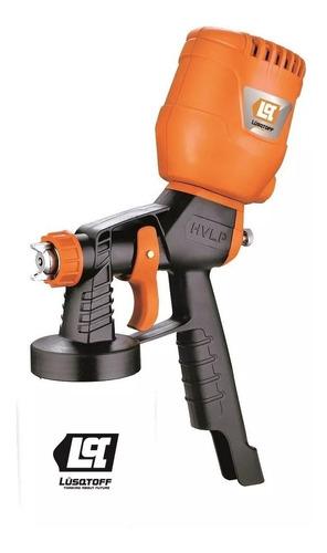 Imagen 1 de 7 de Maquina Pintar Latex 450w Lusqtoff Equipo Soplete Pistola