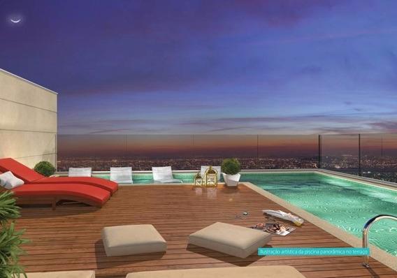 Apartamento Para Venda Na Maurilio Biagi, Infinite Aparts, 1 Dormitorio, Varanda Gourmet, Completo Em Armarios, 45 M2, Lazer Completo E Portaria 24h - Ap01465 - 34161803