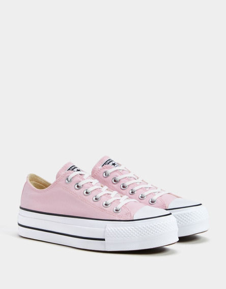 Zapatillas Converse All Star Chuck Plataforma Lona#1 Strings