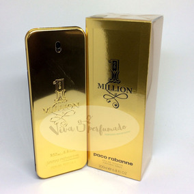 One Million 200ml Perfumes Importados Paco Rabanne Masculinos No
