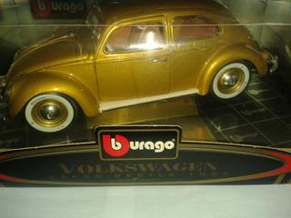 Burago Escala 1-18 Volkswagen Käfer-beetle 1955