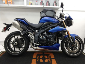 Triumph Speed Triple 1050 Azul 2014 - Target Race