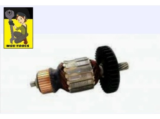 Kit Rotor + Rolamentos + Carvão Serra Makita 5007n / 5007mg