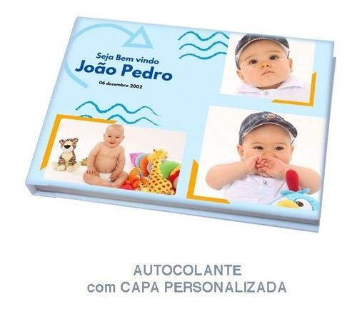 Álbum Autocolante Personalizado Para 40 Fotos 20x30 Horizont