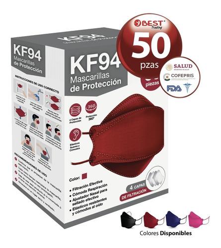 Imagen 1 de 9 de Cubrebocas Kf94 Tapabocas Mascarilla Con Tecnología De Corea