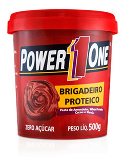 Pasta De Amendoim Integral Power One Sabores