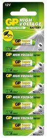 50 Pilhas 27a 12v Gp - 10 Cartelas