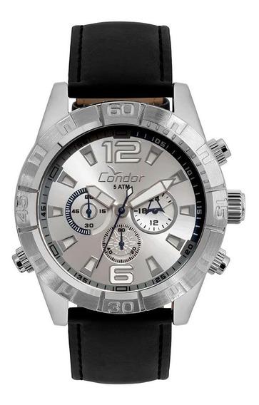 Relógio Condor Masculino Civic Prata Covd54av/2k