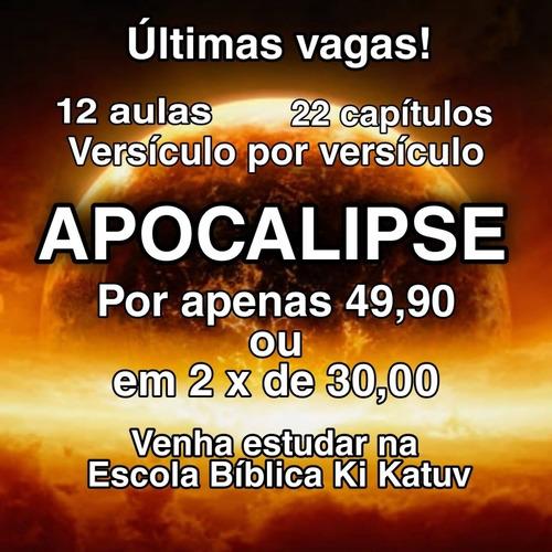 Imagem 1 de 1 de Aulas Apocalipse Versículo Por Versículo
