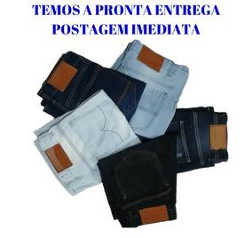 Kit 4 Bermudas Jeans + 4 Calças Jeans Skinny Frete Grátis
