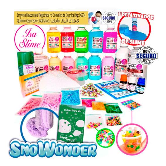 Kit Para Fazer Slime Premium Isa Slime Original Black Friday