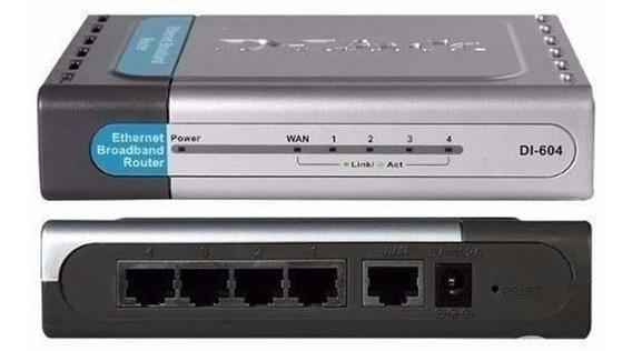 Roteador D-link Di-604 Ethernet Broadband Router