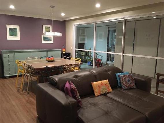 Excelente Apartamento Na Mooca Com Ampla Sacada Gourmet. - 13885