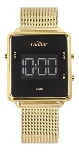 Relógio Condor Feminino Digital Trendy Dourado Cobjf156ab/4x