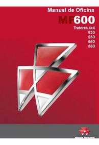 Manual Serviço Oficina Tratores Massey Mf 630 650 660 680