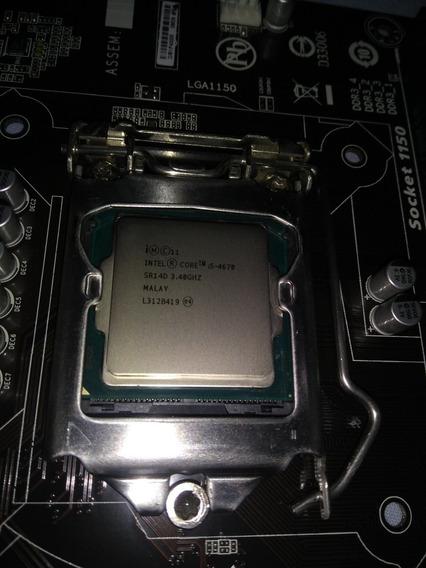 Processador Intel Core I5 4670 3.40ghz