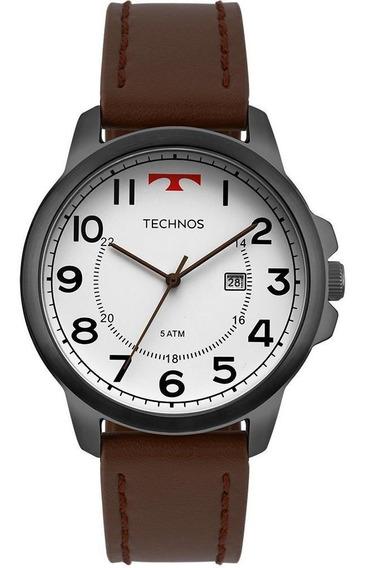 Relógio Masculino Technos Steel Grafite - Original