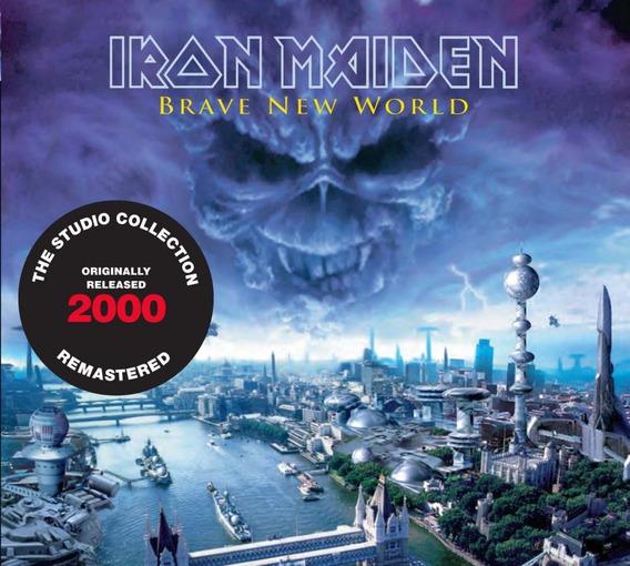 Cd Iron Maiden - Brave New World (2000) - Remastered - Emba