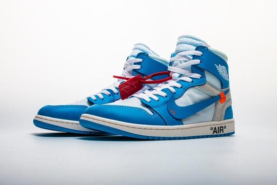 Tenis Nike Air Jordan X Off-white Unc