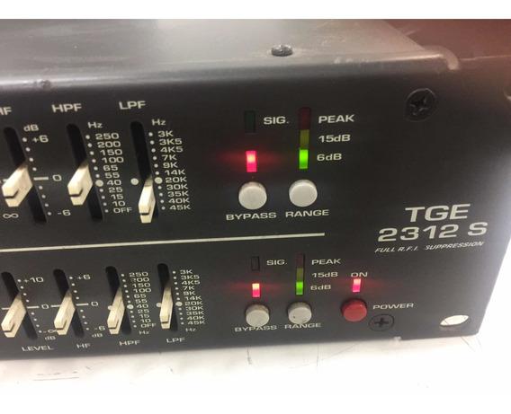 Technovox Ciclotron Tge-2312s Equalizador Gráfico.