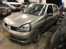 Chocados Otros Renault Clio Campus 2015 Aa Chocado Siniestro