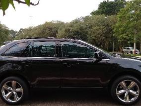 Ford Edge Limited 3.5 V6 Preta Top De Linha Teto Solar 2010