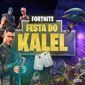 Convite Animado Fortnite
