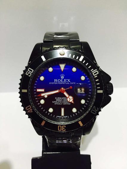 Relógio Submariner Black Blue Caixa De 45mm