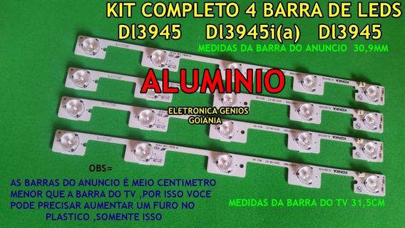 Kit Completo Dl3945 ( 4 Barras)nova Sem Uso Confira As Foto