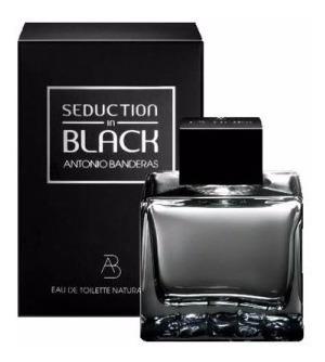 Perfume Antonio Banderas Seduction In Black 200ml. - Novo!!!