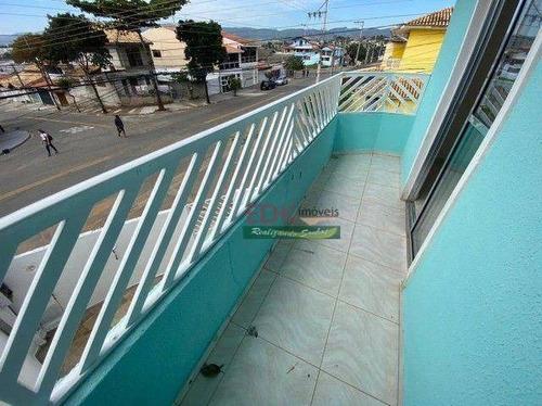 Imagem 1 de 16 de Sobrado Com 2 Dormitórios À Venda, 65 M² Por R$ 300.000,00 - Parque Nova Esperança - São José Dos Campos/sp - So2472